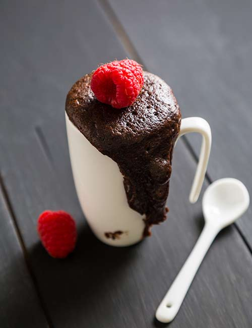 5. Keto Chocolate Mug Cake