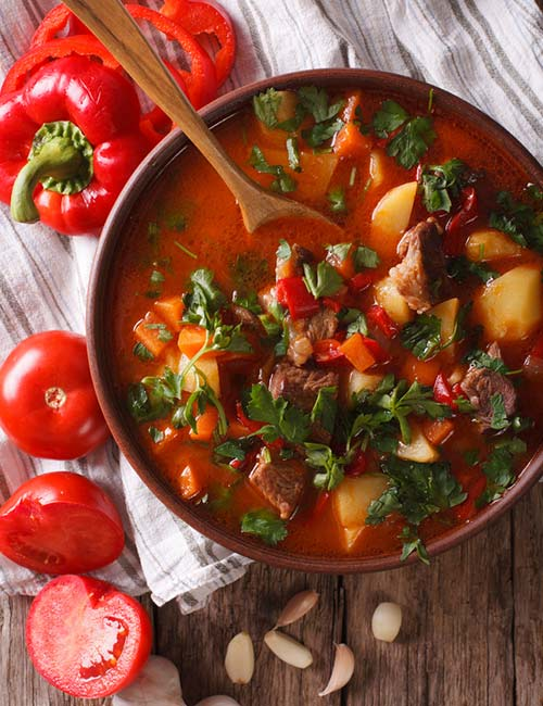 5. Low-Carb Goulash Soup