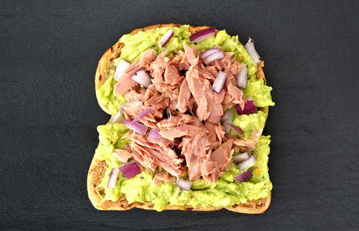 6.Open Tuna Sandwich