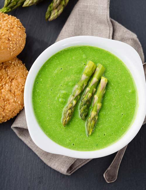 7.Creamy Fresh Asparagus Soup