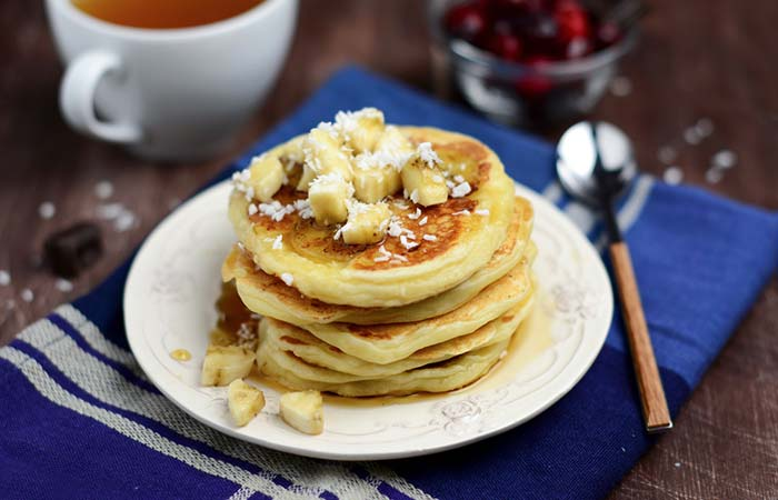 7. Homemade Banana Pancakes