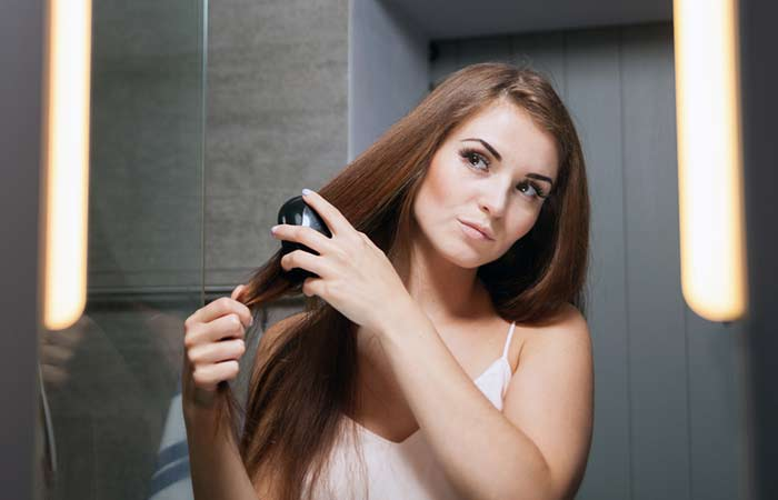 8. Brush Your Hair