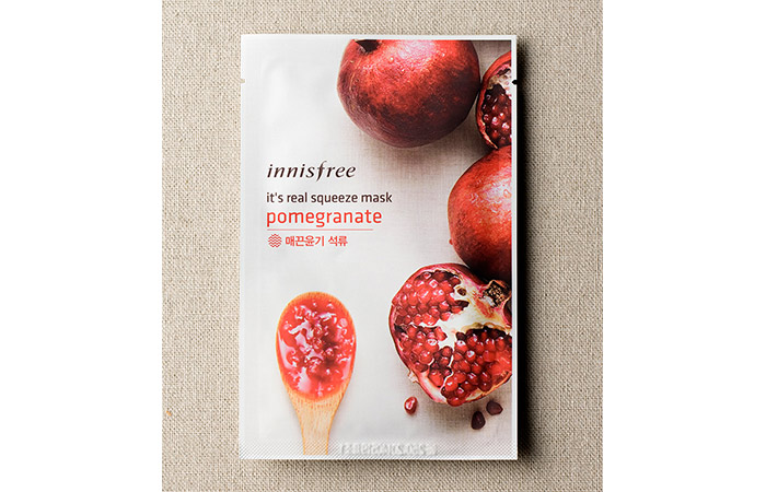 Innisfree It's Real Squeeze Mask Sheets - Sheet Mask