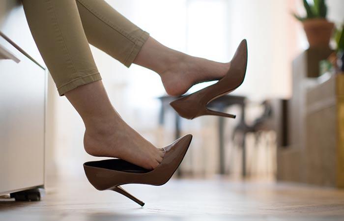 8. Keep 'Em Heels On