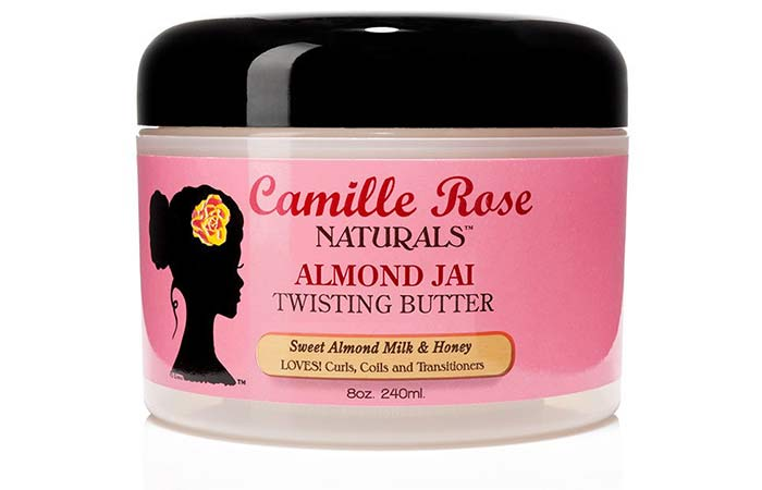 9. Camille Rose Naturals Almond Jai Twisting Butter