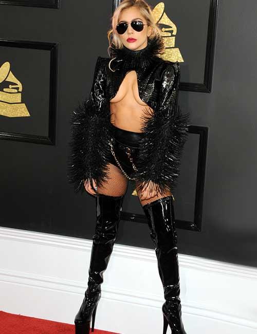 Lady Gaga Leather Jacket - Lady Gaga Outfits