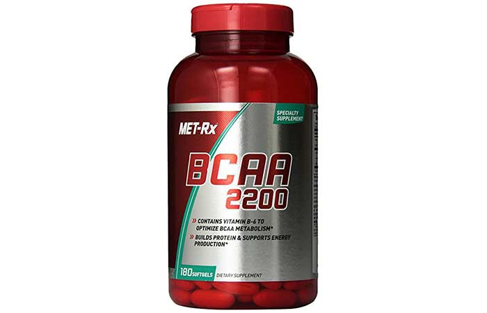 9. MET-Rx® BCAA 2200 Supplement