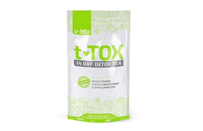 9. V tea T-tox 14 Day Detox Tea