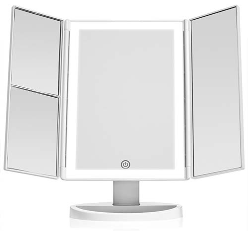Best Lighted Makeup Mirrors Vanity Mirrors With Reviews