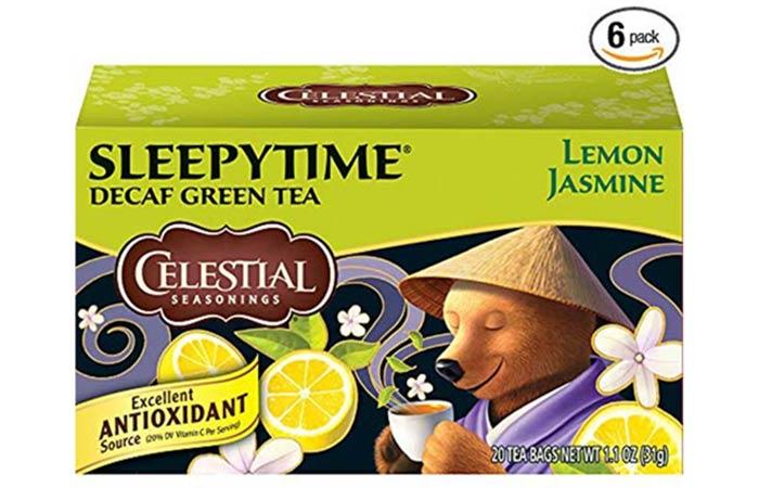 Celestial Seasonings Green Tea - Diet Tea Reviews