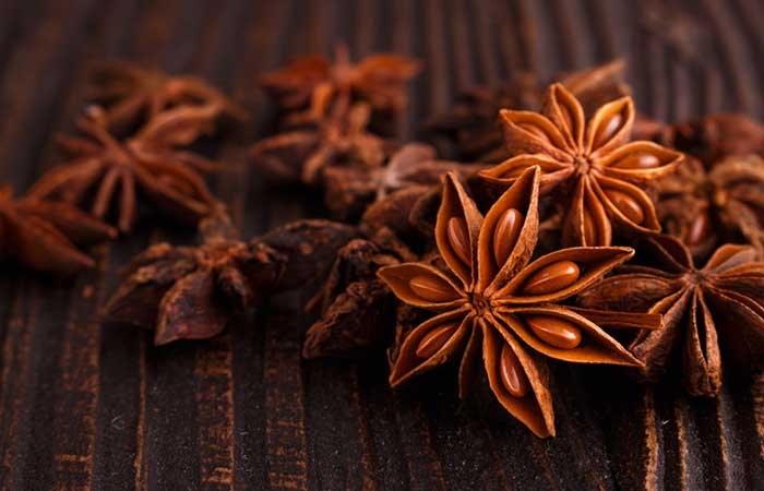 Cleansing Star Anise Ice Cubes