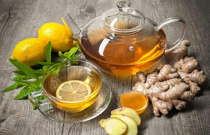Ginger Water Helps One Detox