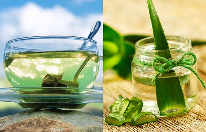 Green Tea And Aloe Vera Face Mask