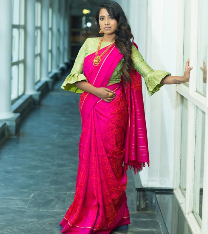 Guide To Picking The Right Party Blouse To Glam Up A Plain Saree