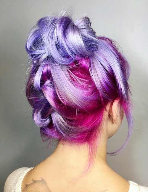 Lavender Pink Ombre