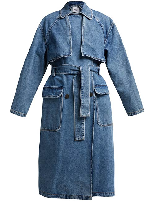 MSGM Oversized Trench Coat