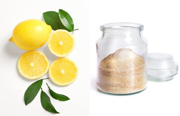 Mint, Lemon, And Gelatin Face Mask