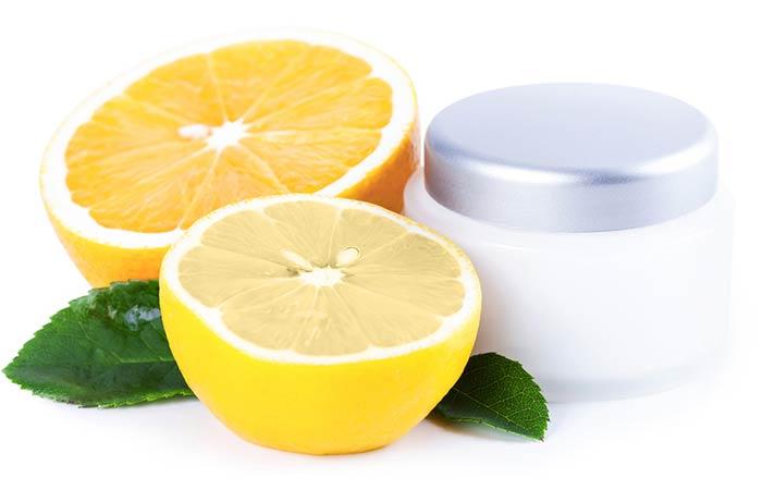 Overnight Vitamin C Lemon Mask