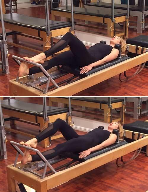 Running on the Pilates Reformer
