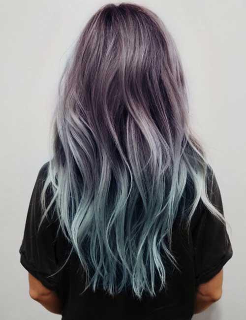 trends sturm nehmen haarfarbe atemberaubende