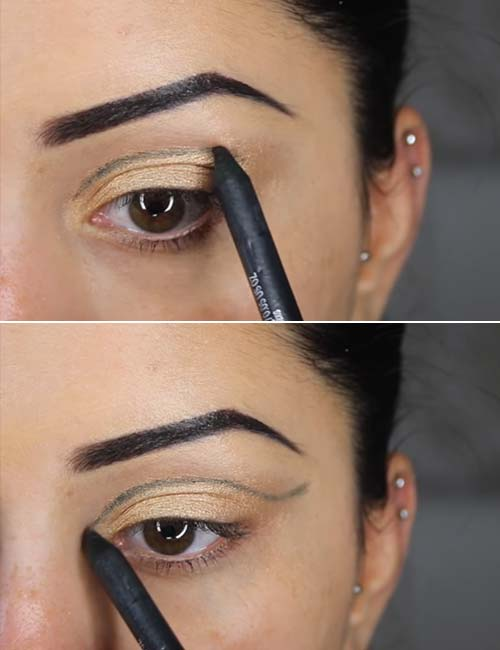 Step 2 Shape Out Your Cut-Crease