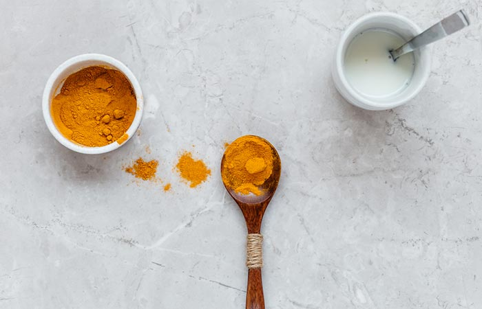Turmeric And Milk Face Mask