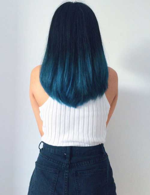 Turquoise Ombre