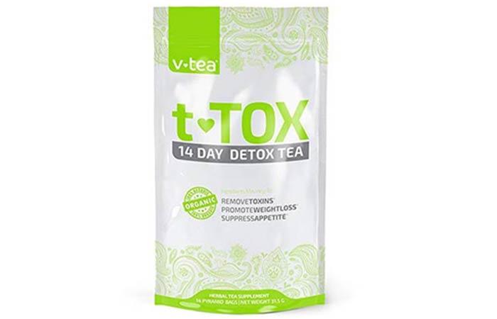 V tea T tox 14 Day Detox Tea - Diet Tea Reviews