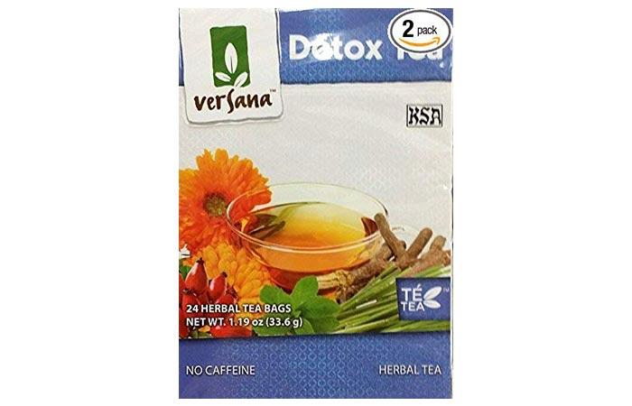 Versana Detox Tea - Diet Tea Reviews