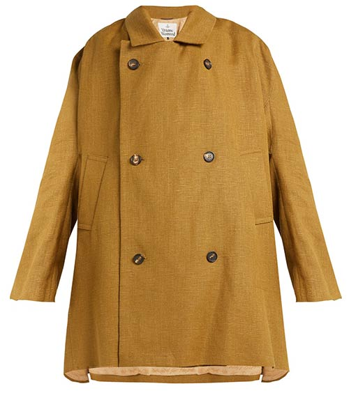 Vivienne Westwood Hemp Trench Coat