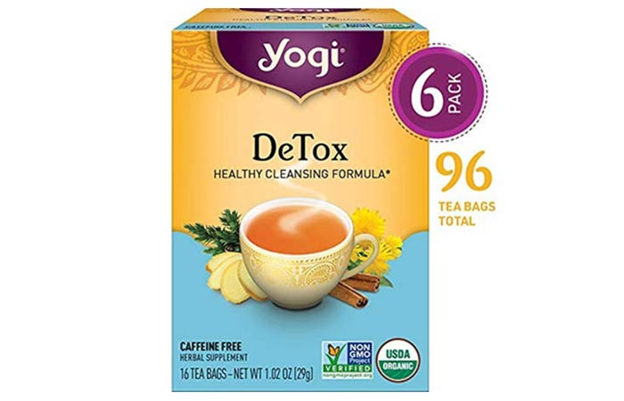 Yogi DeTox Healthy Cleansing Formula - Diet Tea Reviews