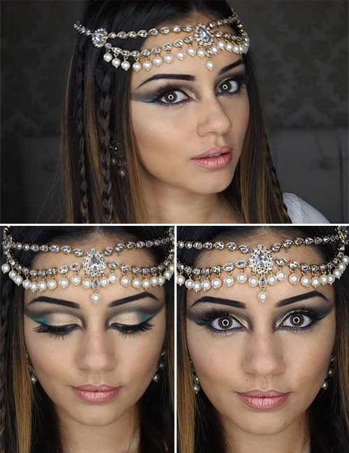 Egyptian Eye Makeup Look