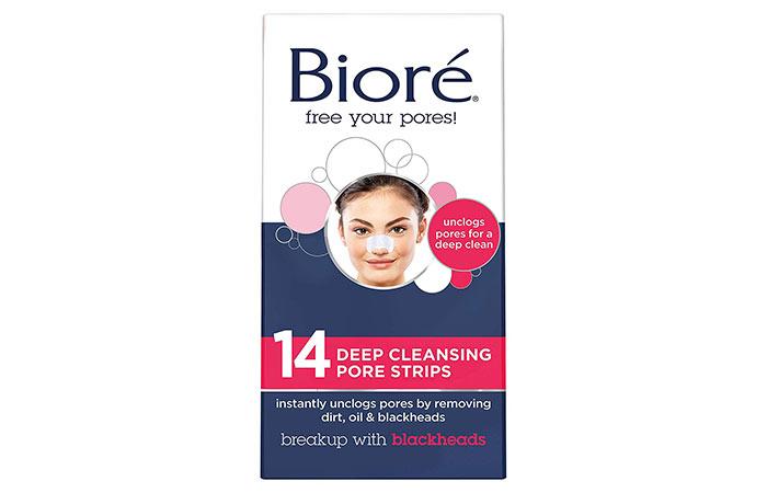 1. Bioré Deep Cleansing Pore Strips