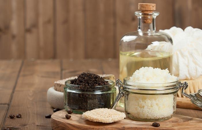1. Coffee And Sugar Scrub