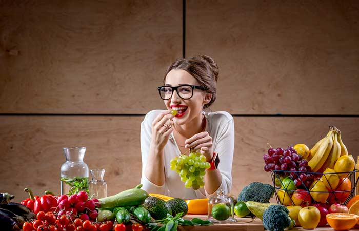 1. Eat Fruits And Vegetables Everyday (5 Portions)
