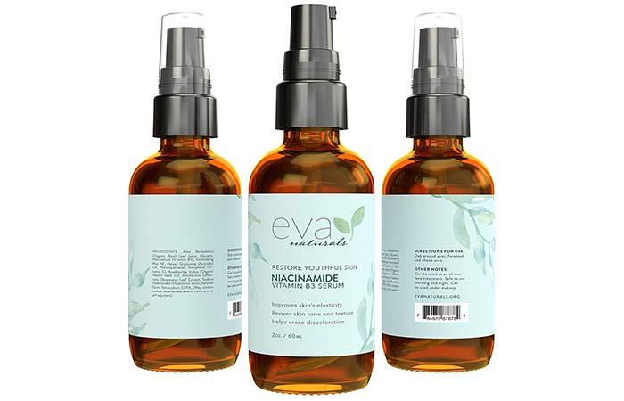1. Eva Naturals Niacinamide Vitamin B3 Serum