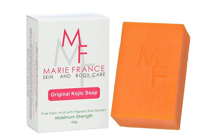 1. Marie France Original soap soap Kojic