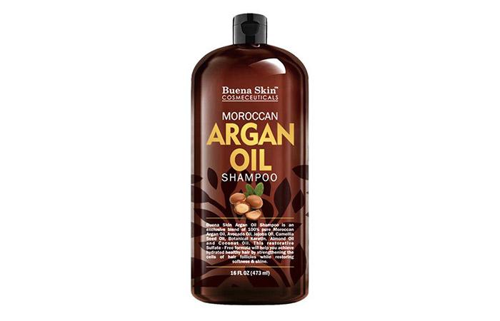 10. Buena Skin Moroccan Argan Oil Shampoo