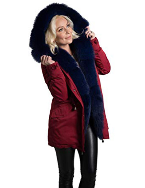Kate's Fur Collection Women's Parka - Winter Jackets