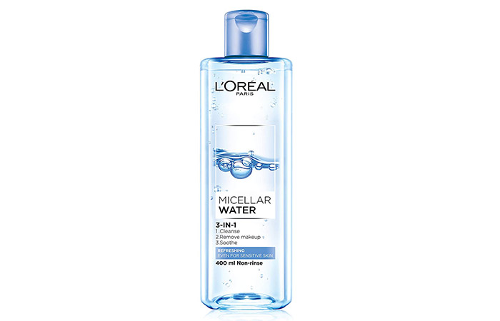 10. L'Oreal 3-in-1 Micellar Water