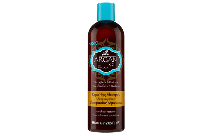 12. Hask Argan Oil Shampoo for repair