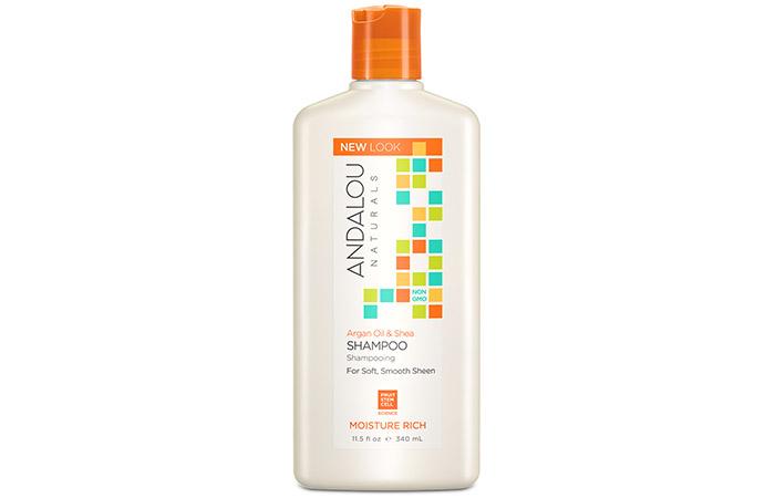 13. Andalou Naturals Argan Oil & Shea Shampoo