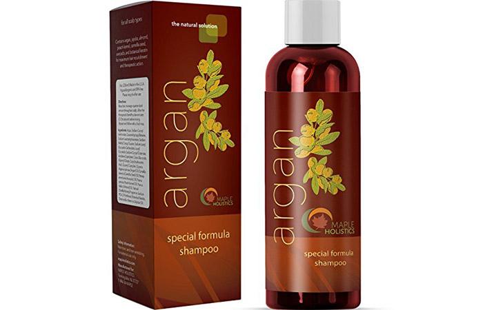 2. Maple Holistics Argan Oil Special shampoo
