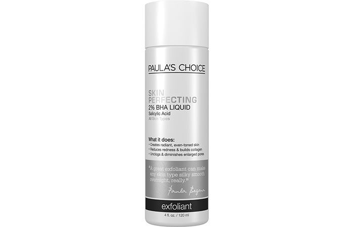2. Paula's Choice Skin Perfect 2% BHA Liquid Exfoliant