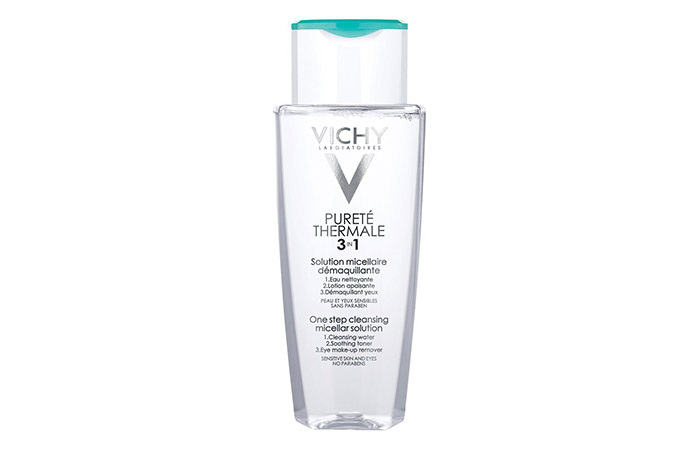 2. Vichy Purete Thermale One-step Cleansing Mixture