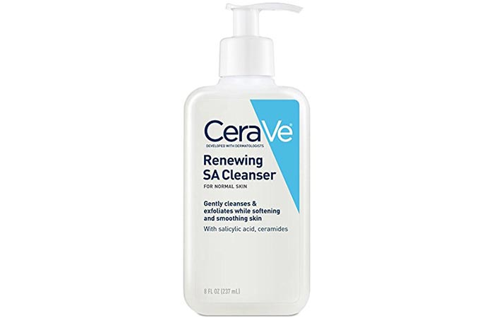 3. Cera Ve Renewing SA Cleanser
