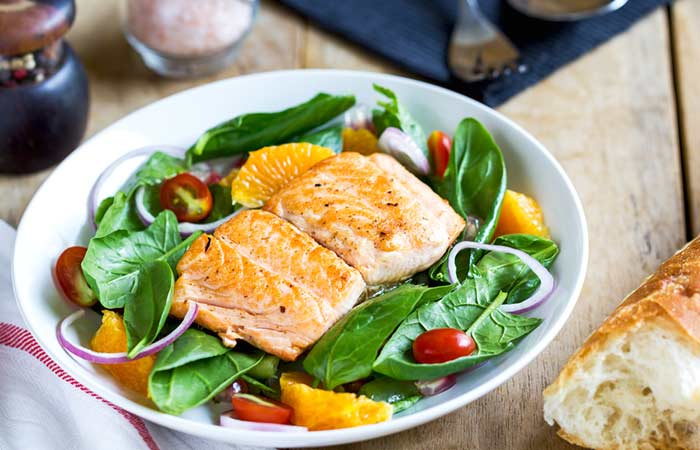 3.-Grilled-Fish-And-Spinach-Salad-For-Dinner