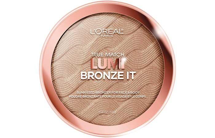 L'Oreal Paris True Match Lumi Bronze It-Лучшие Аптечные Бронзеры