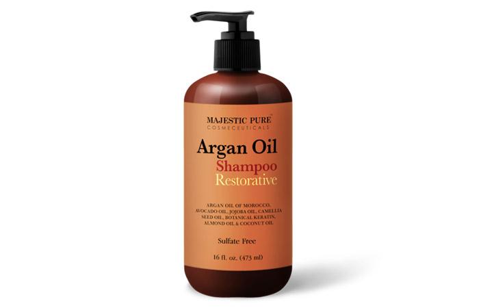 3. Shampoo Majestic Pure Argan Oil