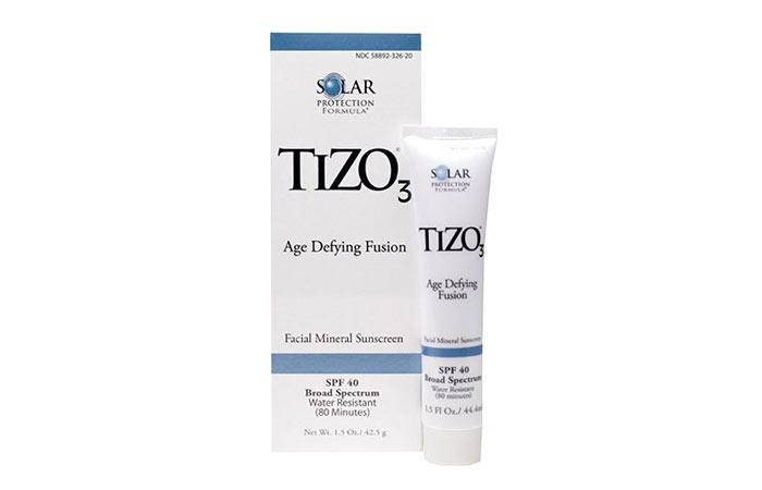3. TIZO 3 Age Defying Fusion Facial Mineral Sunscreen SPF 40